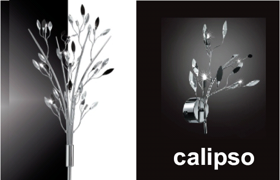 Micron calipso lampada dal design inconfondibile