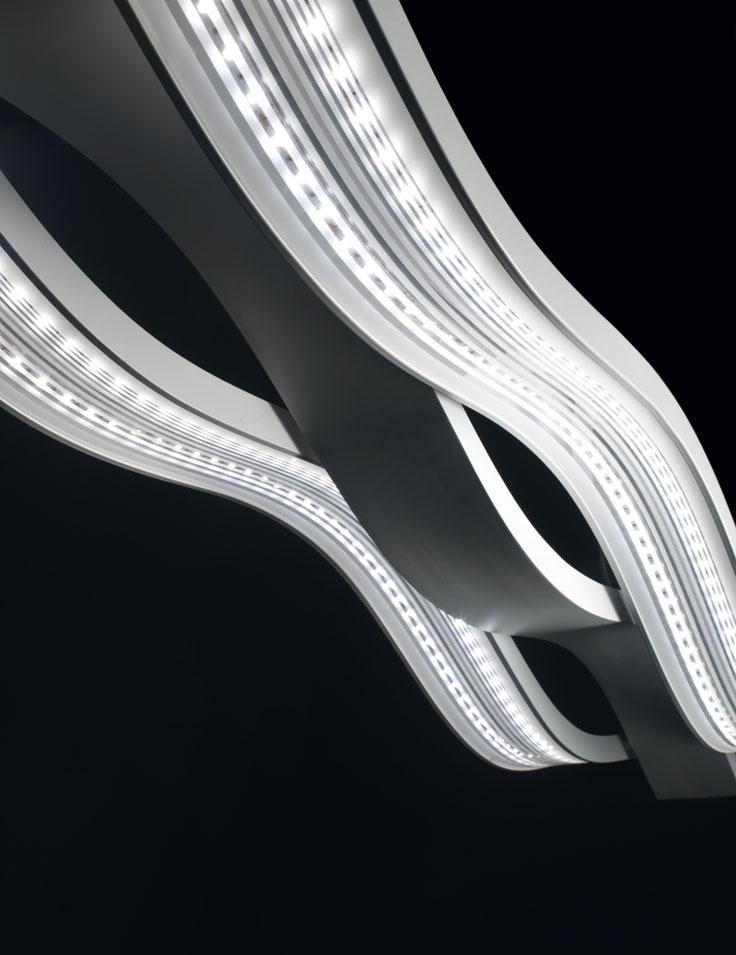 lampadari micron : Lampadari a Sospensione : Swing M4633 - M4634